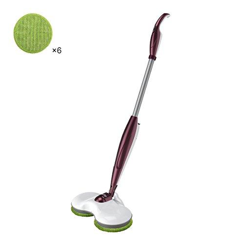 Electric Spin Floor Mop Cordless Rechargeable Floor Cleaner